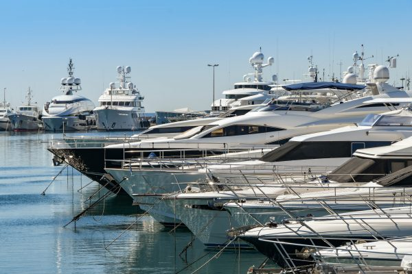 Yacht rental services